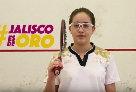 Dina Anguiano (squash).