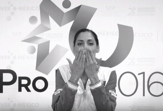 Nuria Diosdado Presente en los Juegos Olímpicos Río 2016.