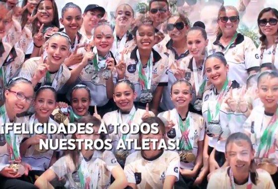 ¡Felicidades a todos nuestros atletas, CAMPEONES de la Olimpiada Nacional 2017! #JaliscoEsDeOro.