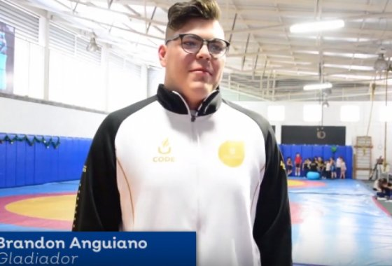 Te presentamos a Brandon Anguiano.