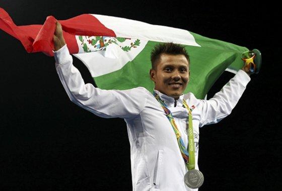 La medalla fue recompensa divina Germán Sánchez.