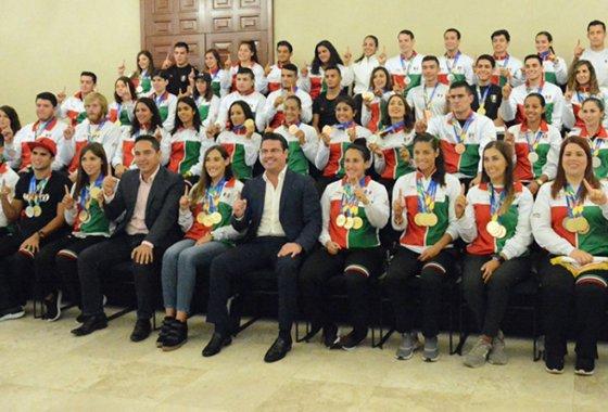 Los atletas de Jalisco hicieron historia JJC Barranquilla 2018.